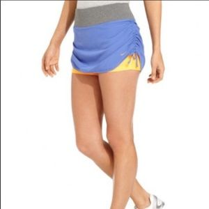 Nike Rival Dri-FIT Ruched Colorblock Skirt